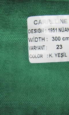 Каталог Design 1951 NUANS VARYANT 23 COLOR K.Yesil CARRLLINE (КАРРЛИН)