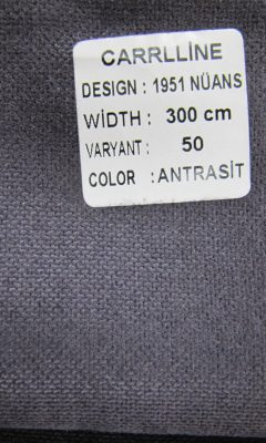 Каталог Design 1951 NUANS VARYANT 50 COLOR Antrasit  CARRLLINE (КАРРЛИН)