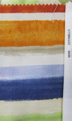 SERIE: COTONELLO DESIGN: MONET B Colour 07 NARANJA ТКАНИ CASABLANCA
