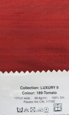 LUXURY COLOUR 189-Tomato GALLERIA ARBEN