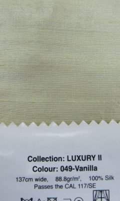 LUXURY COLOUR 049-Vanilla  GALLERIA ARBEN