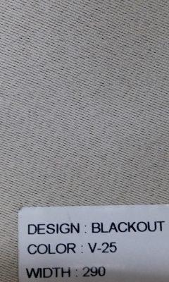 Каталог Blackout Цвет V-25 SAMA (САМА)