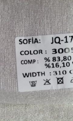ТКАНЬ Desing JQ-17384 Color 3005 SOFIA (СОФИЯ)