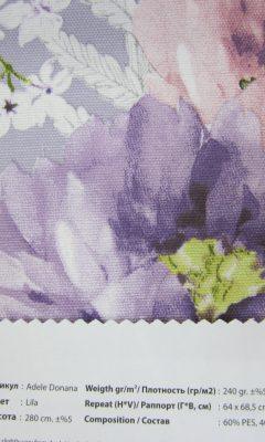 Design ACERTADO Collection Colour: Lila Vip Decor/Cosset Article: Adele Donana