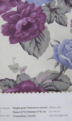 Design ACERTADO Collection Colour: Lila Vip Decor/Cosset Article: Artico Donana