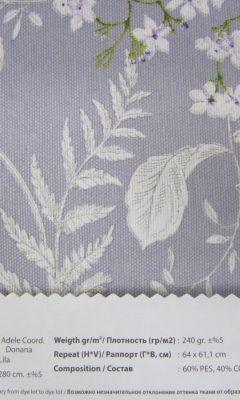 Design ACERTADO Collection Colour: Lila Vip Decor/Cosset Article: Adele Coor Donana