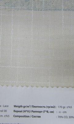 Design ACERTADO Collection Colour: Natural 00 Vip Decor/Cosset Article: Troya-Lace