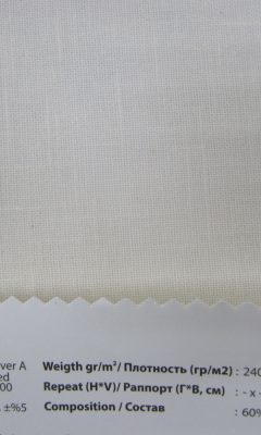 Design ACERTADO Collection Colour: Natural 00 Vip Decor/Cosset Article: Fabric River A Folded