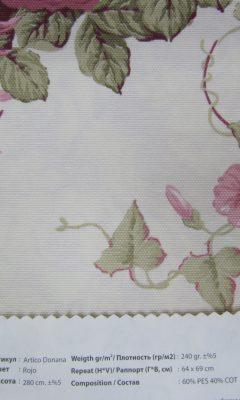Design ACERTADO Collection Colour: Roja Vip Decor/Cosset Article: Artico Donana