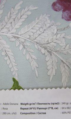 Design ACERTADO Collection Colour: Rosa Vip Decor/Cosset Article: Adele Donana