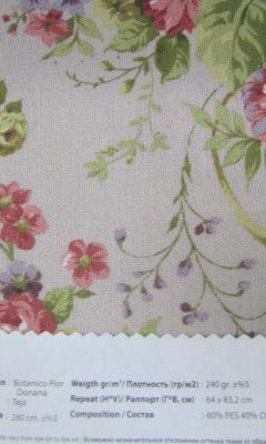 Design ACERTADO Collection Colour: Teja Vip Decor/Cosset Article: Botanico Flor Donana