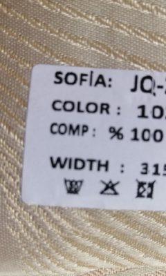 ТКАНЬ Desing JQ-22005 Color 102 SOFIA (СОФИЯ)