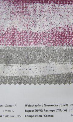 Design ACERTADO Collection Colour: Vino 17 Vip Decor/Cosset Article: Zamo-A