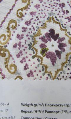 Design ACERTADO Collection Colour: Vino 17 Vip Decor/Cosset Article: Bebe-A