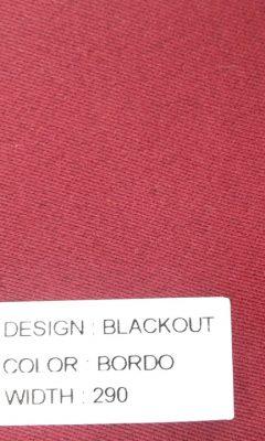 Каталог Blackout Цвет BORDO SAMA (САМА)