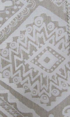 SERIE: COLLECTION: Rustica Lino Design: Tribal D Color: 52 lino ТКАНИ CASABLANCA (КАСАБЛАНКА)