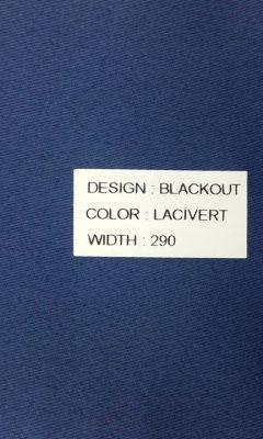 Каталог Blackout Цвет Lacivert SAMA (САМА)