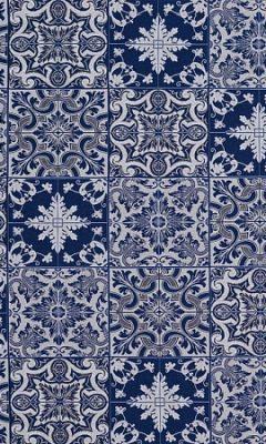 HL-AZULEJOS 001 BLUE Balenciaga GALLERIA ARBEN