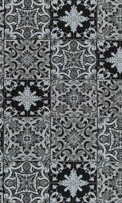 HL-AZULEJOS 002 BLACK Balenciaga GALLERIA ARBEN