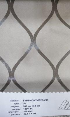 Артикул SYMPHONY-0029-V01 цвет 26 ТКАНЬ WIN DECO (ВИН ДЕКО)