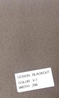 Каталог Blackout Цвет V- 7 SAMA (САМА)