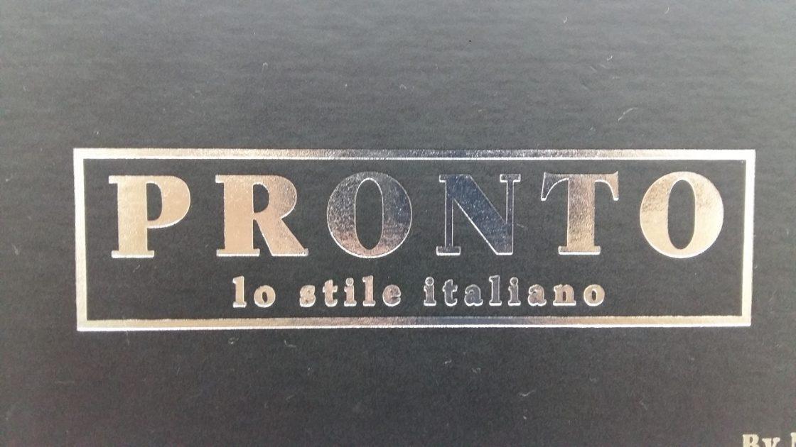Каталог F-3411 PRONTO (ПРОНТО)