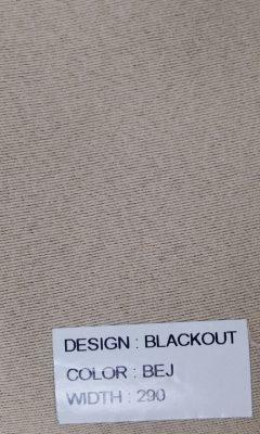 Каталог Blackout Цвет BEJ SAMA (САМА)