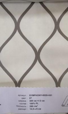 Артикул SYMPHONY-0029-V01 цвет 07  ТКАНЬ WIN DECO (ВИН ДЕКО)