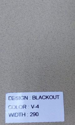 Каталог Blackout Цвет V-4 SAMA (САМА)